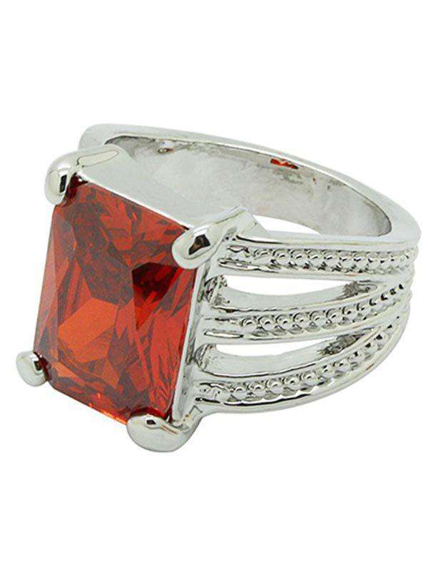 Hot Artificial Gemstone Decoration Ring