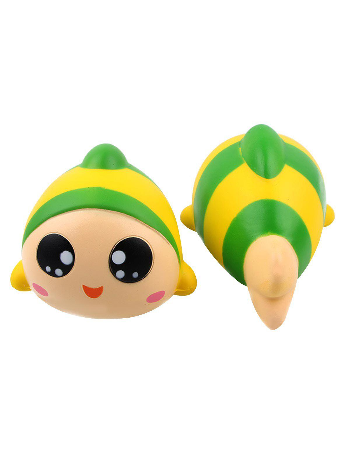 Shop Fish Stress-relief Slow Rising PU Squishy Toy