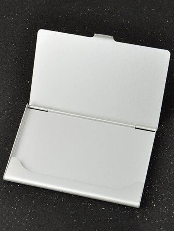 Store Aluminium Alloy Business Card Holder