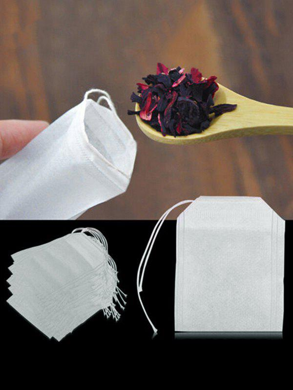 Best 100 Pack Disposable Drawstring Empty Tea Bags
