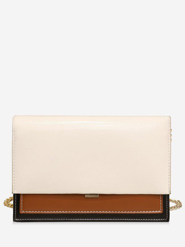 Chic Simple Style Leather Small Shoulder Bag
