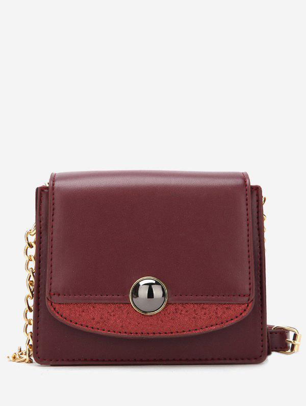 Discount Small Leather Chain Shoulder Bag