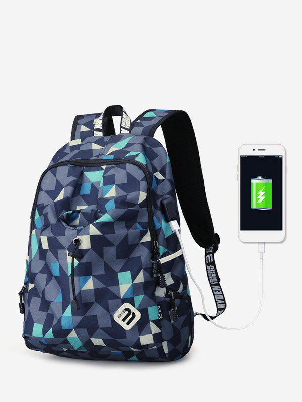 Online Oxford Cloth Outdoors Student Backpack