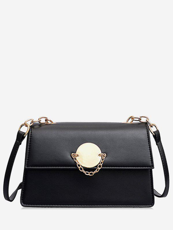 Fashion Leather Chain Design Square Shoulder Bag