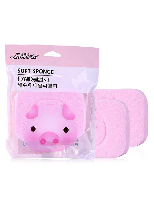 Shops Pig Pattern Face Cleansing Puff