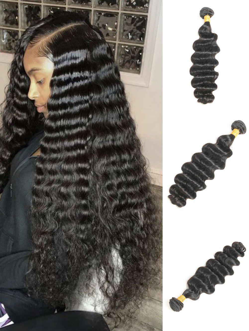 Best 1Pc Deep Wave Brazilian Virgin Human Hair Weave