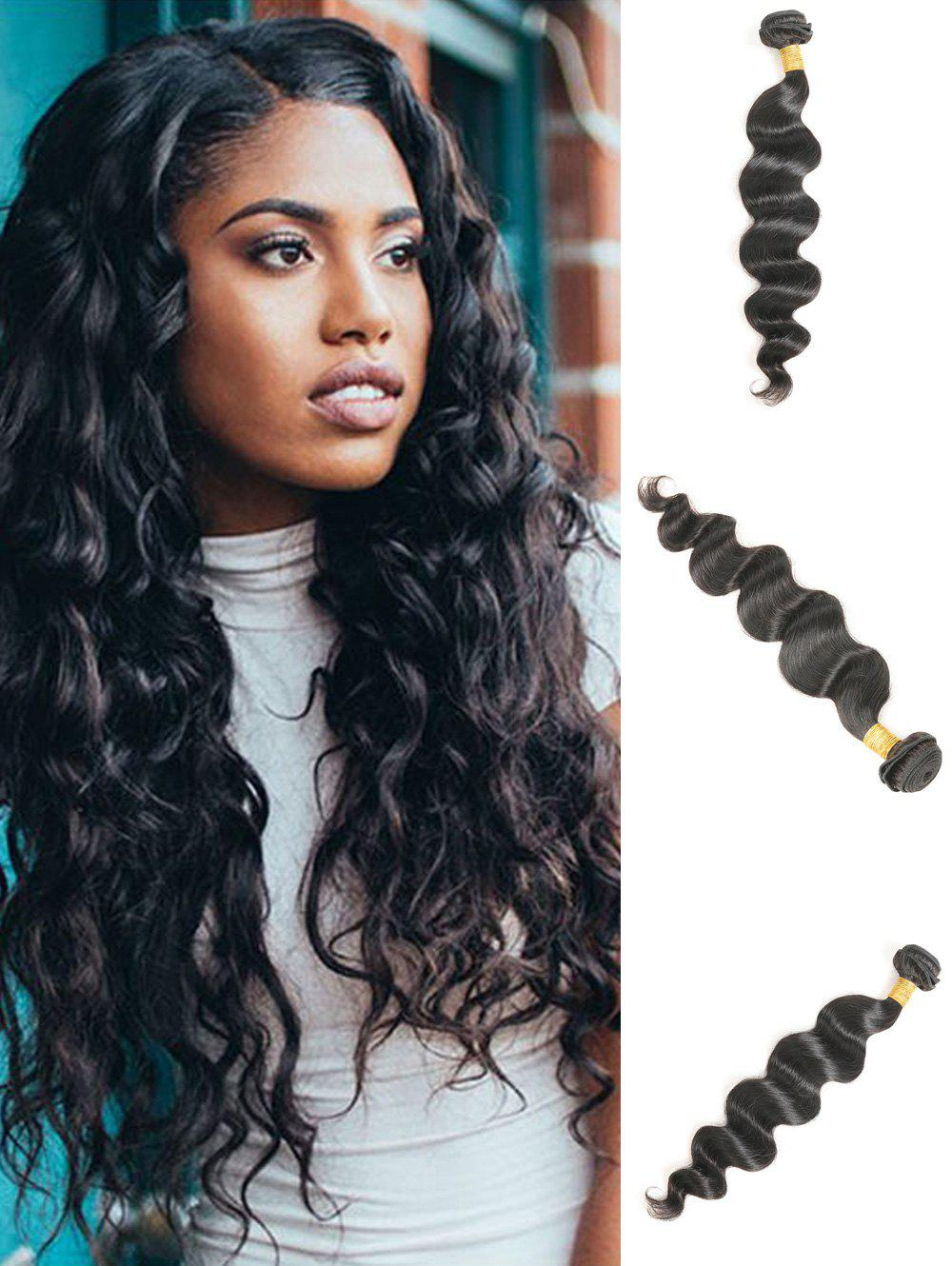 Buy 1Pc Loose Wave Brazilian Virgin Human Hair Weave