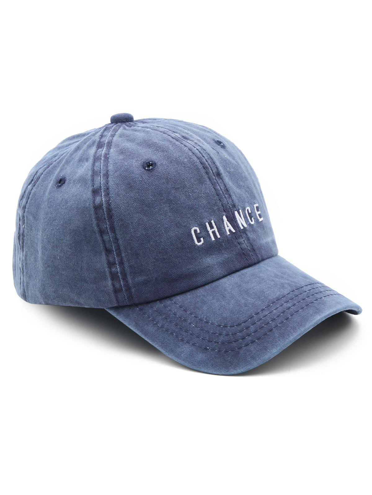 Cheap Letters Print Baseball Cap