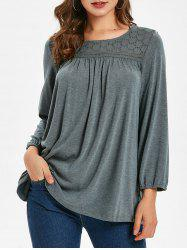 Casual Holey Tunic T-shirt -