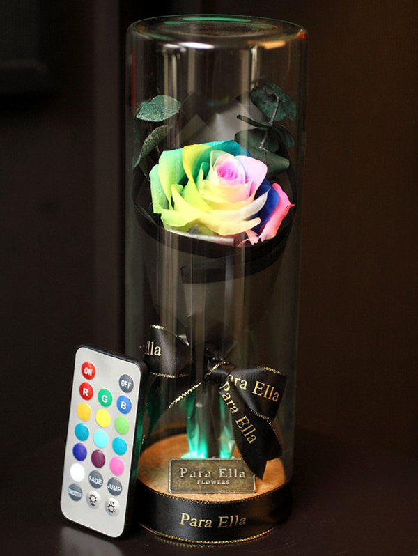 Fancy Valentines Day Artificial Rose Flower with LED Light