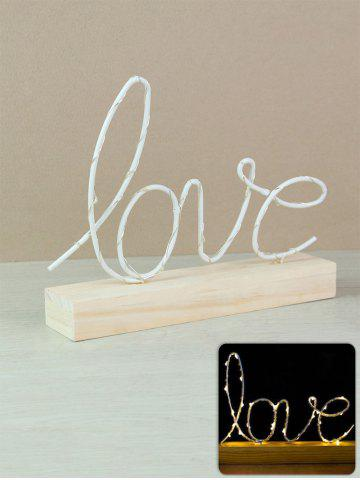 Valentines Day Love Pattern LED Night Light