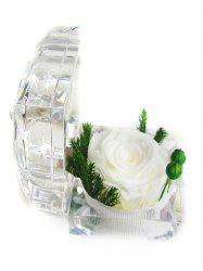 Valentines Day Artificial Rose Flower In A Box -