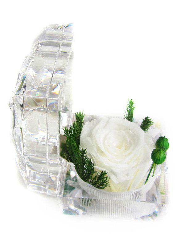 Hot Valentines Day Artificial Rose Flower In A Box