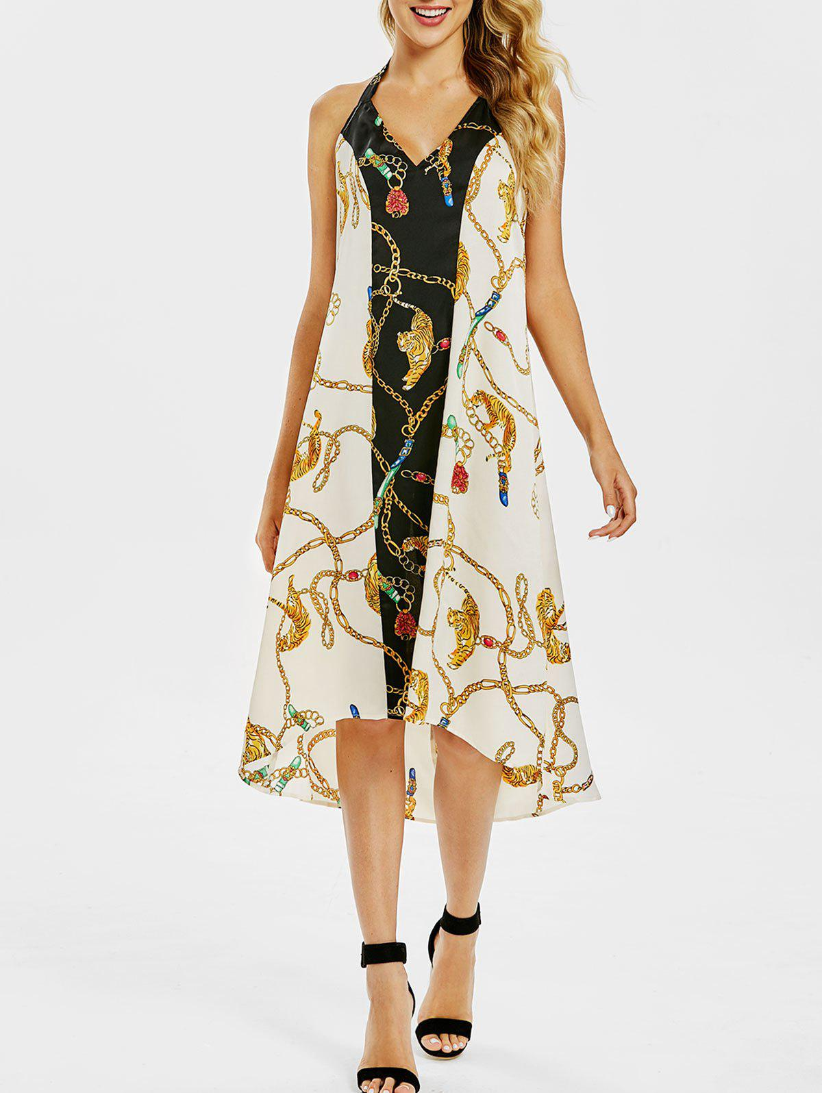 2019 High Low Printed Dress  a75a440f3