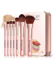 Portable Cosmetic Tool Makeup Brushes Set -