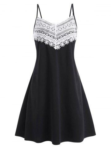 b62aff61a255 Plus Size A Line Dresses - Lace And Black Cheap With Free Shipping