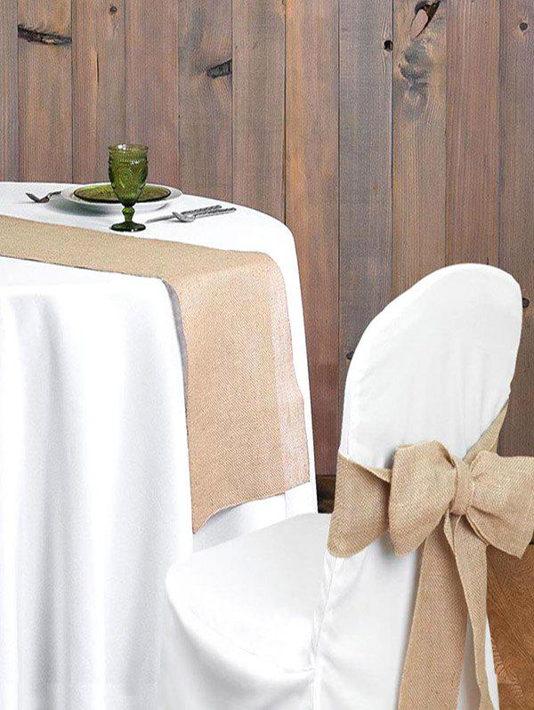 2019 Wedding Decoration Hessian Chair Cover Rosegal