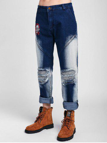 075d4793186 Patchwork Jeans - Free Shipping, Discount And Cheap Sale   Rosegal
