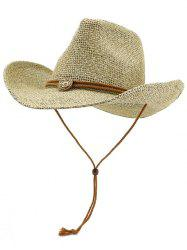 Casual Beach Straw Woven Hat -
