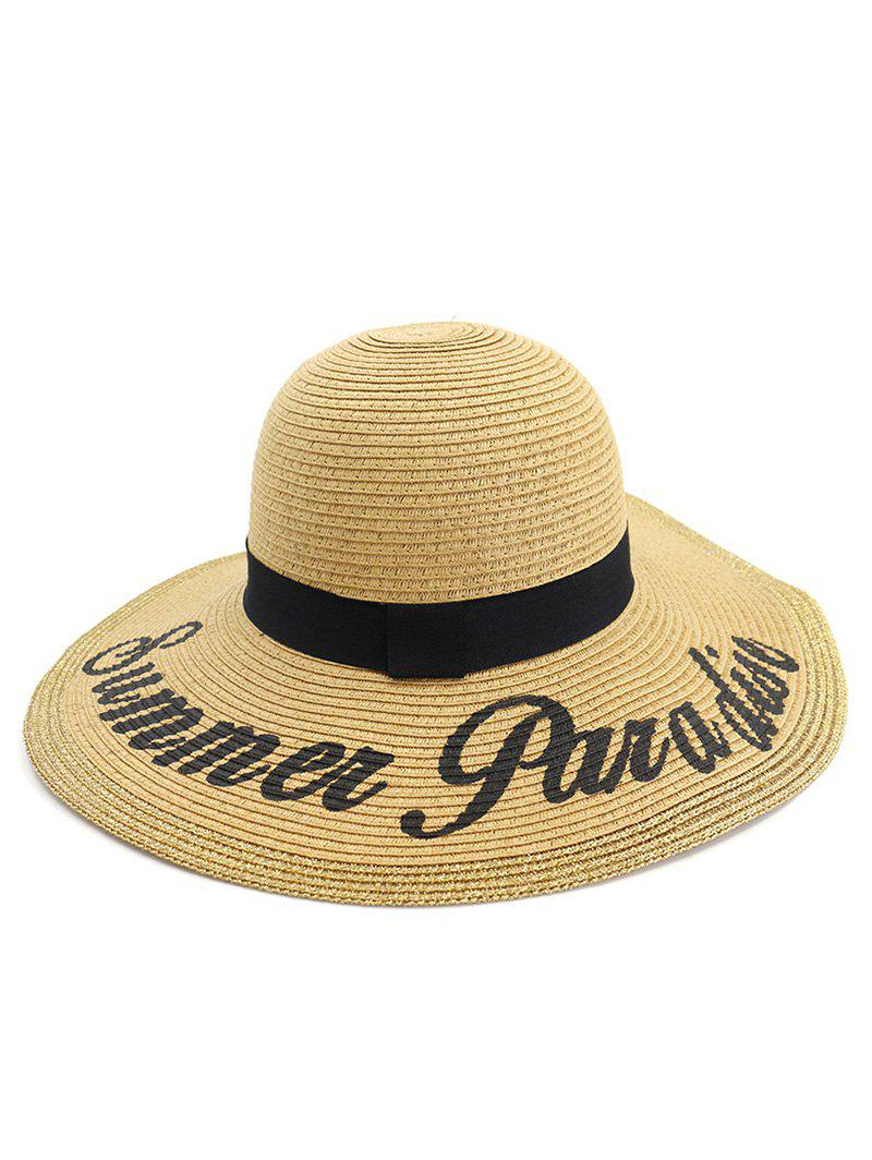 Chic Summer Foldable Straw Woven Hat