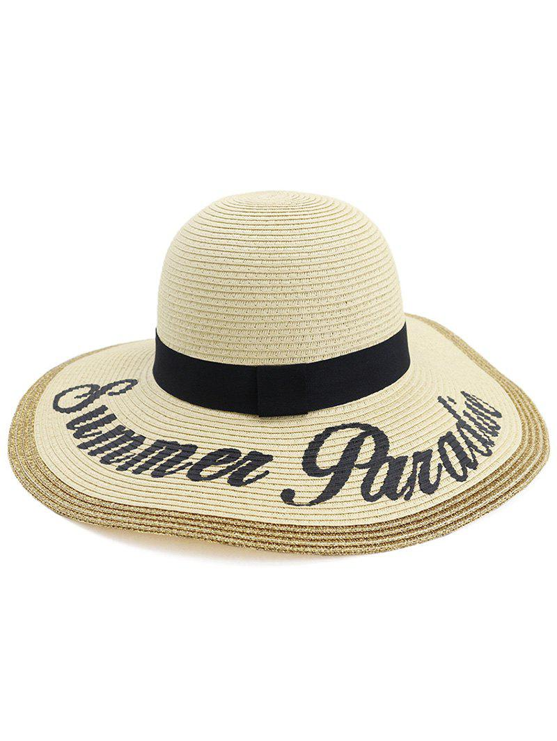Outfits Summer Foldable Straw Woven Hat