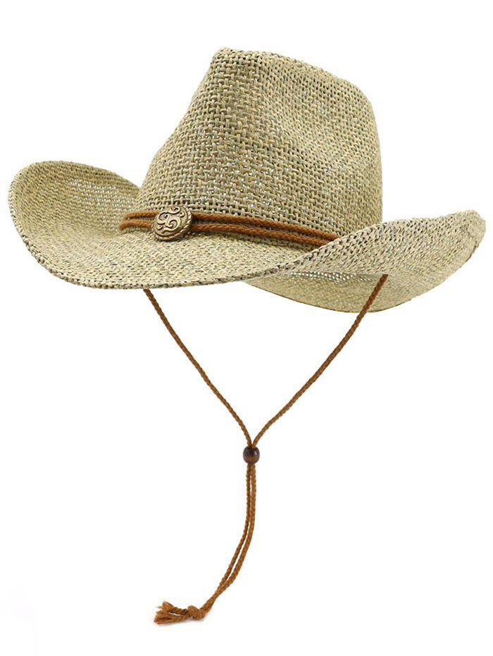Discount Casual Beach Straw Woven Hat