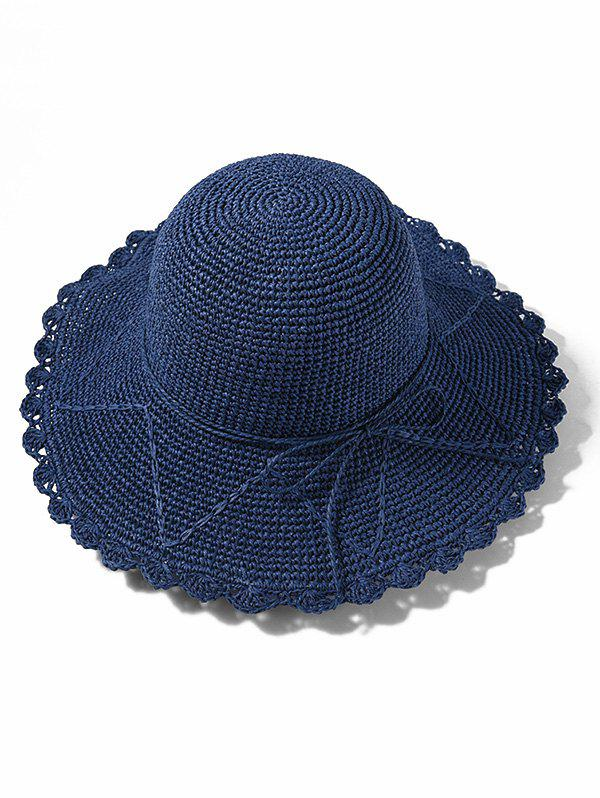 Affordable Summer Straw Knitted Sun Hat