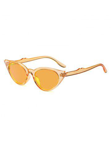 Cat Eye Shape Decoration Sunglasses