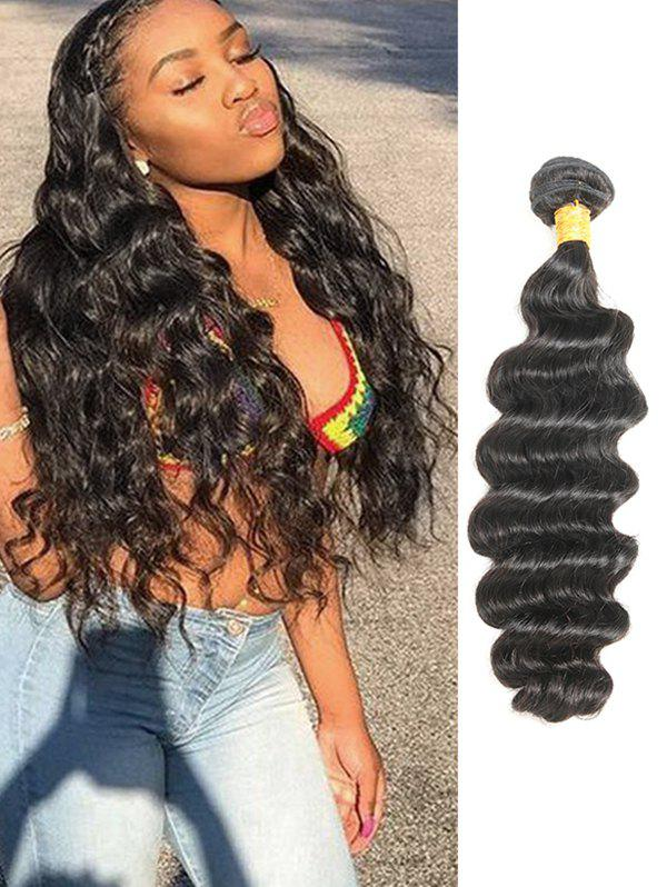 1Pc Deep Wave Brazilian Remy Real Human Hair Weave - 20inch 8e7f825e6