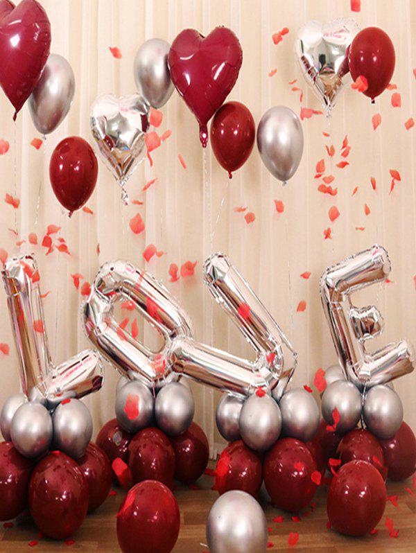 2019 Wedding Decorations Letters Shape Balloons Rosegal