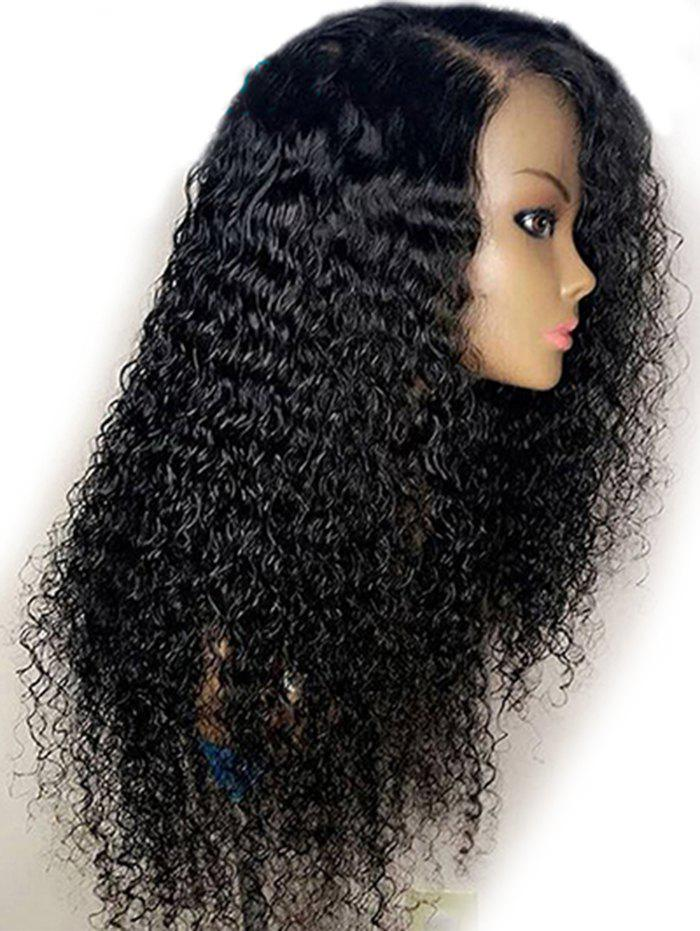 Best Long Side Parting Fluffy Water Wave Synthetic Wig