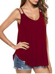 Soft Double Strap Cami Tank Top -