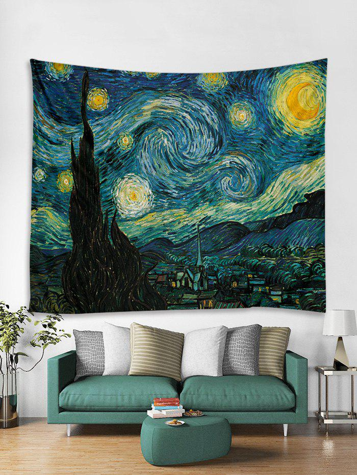 Fancy Oil Painting Tapestry Art Decoration