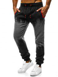 Contrast Tapered Jogger Pants -
