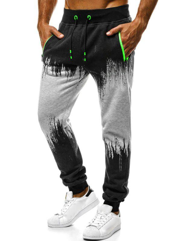 Shops Contrast Tapered Jogger Pants