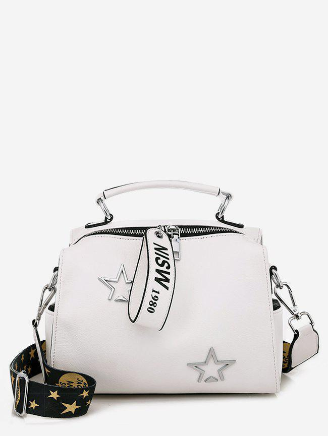 7fba6aca7ab3 Discount Star and Letter Pattern Crossbody Bag