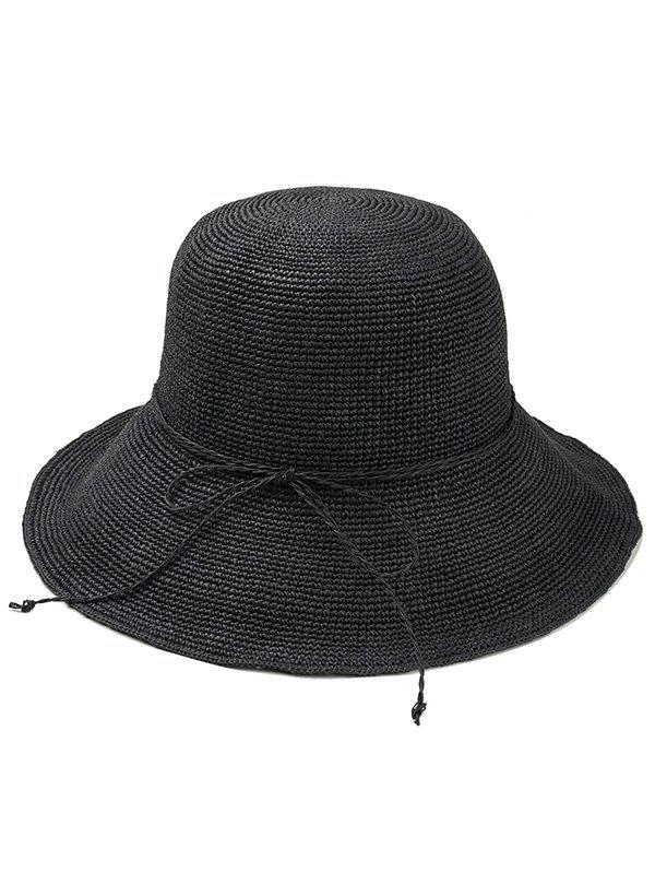 Best Bowknot Embellished Beach Straw Hat