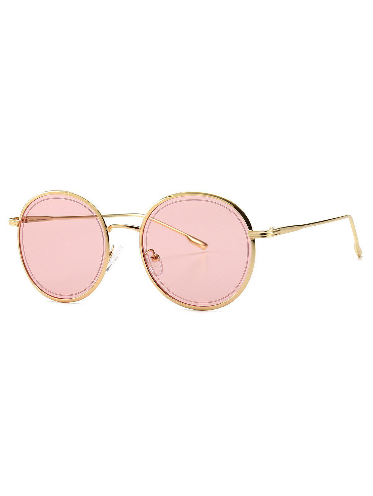 Online Ins Style Small Metal Frame Sunglasses