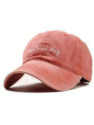 Embroidery Adjustable Baseball Cap -