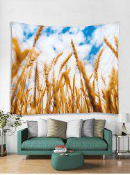 Wheat Field Print Tapestry Wall Hanging Art Decoration -