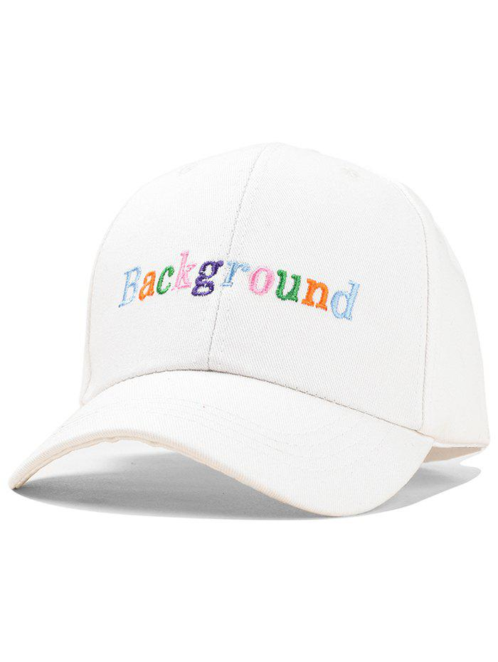 Unique Colorful Embroidered Kids Baseball Cap