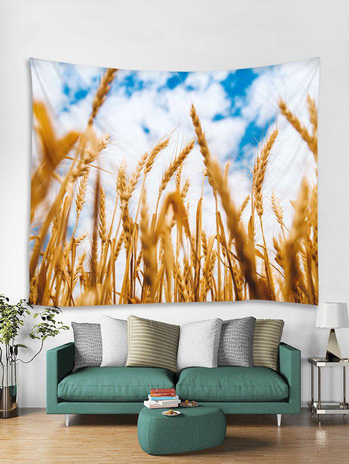 Store Wheat Field Print Tapestry Wall Hanging Art Decoration