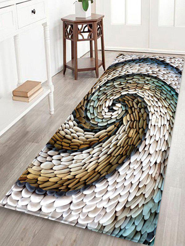 47 Off Stones Swirl Print Floor Decor Area Rug Rosegal