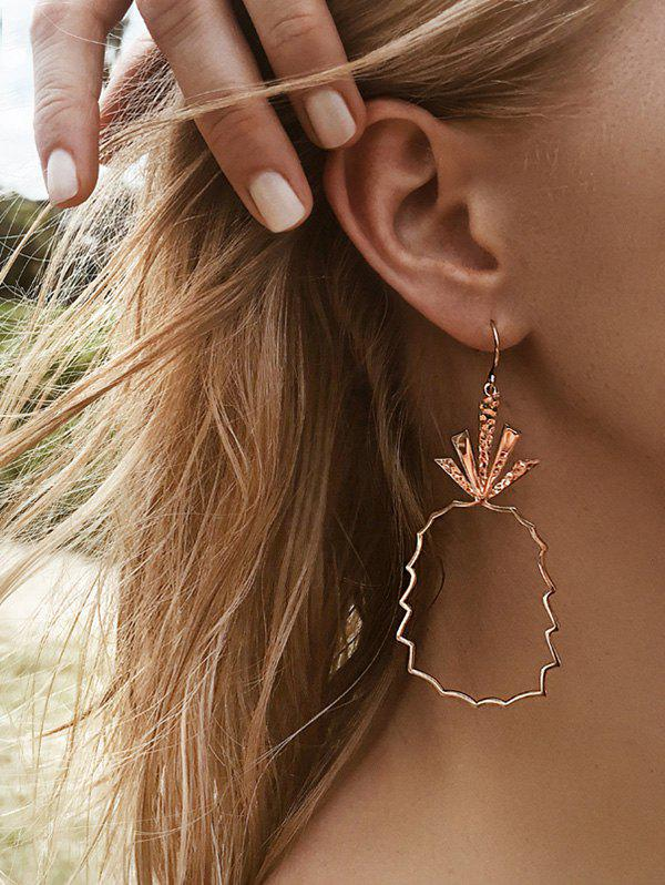 Outfit Pineapple Shape Openwork Earrings