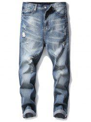 Ripped Denim Pants -