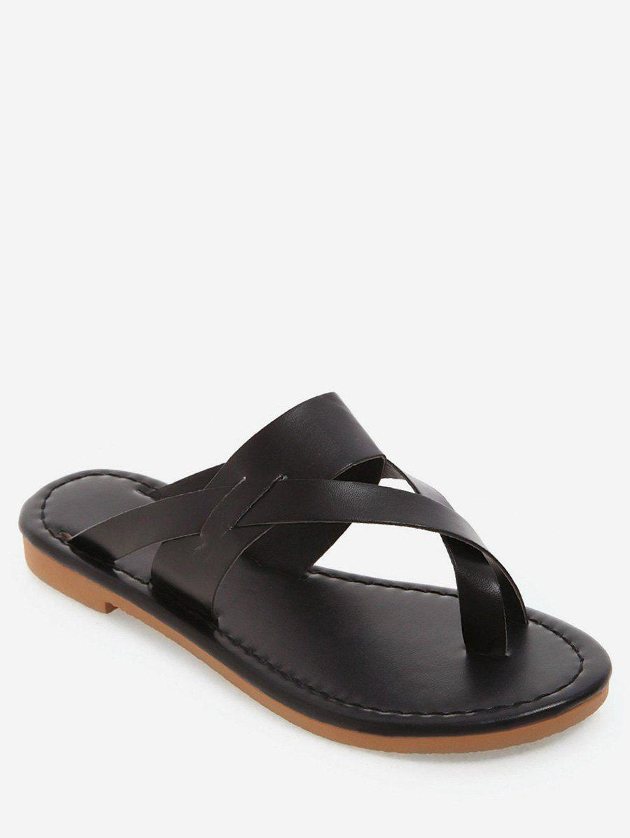 Discount Toe Loop PU Slide