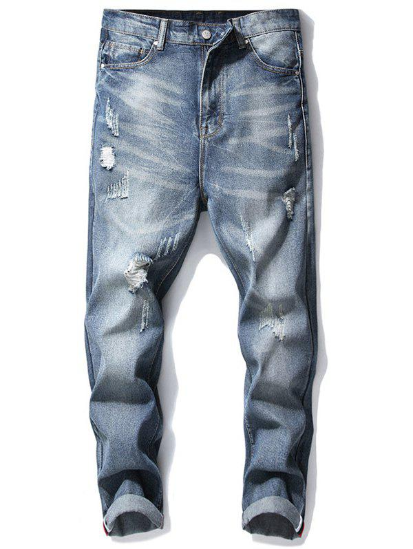 Shops Ripped Denim Pants