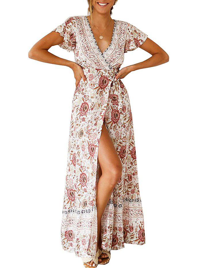 Outfits Crossover Maxi Tea Dress