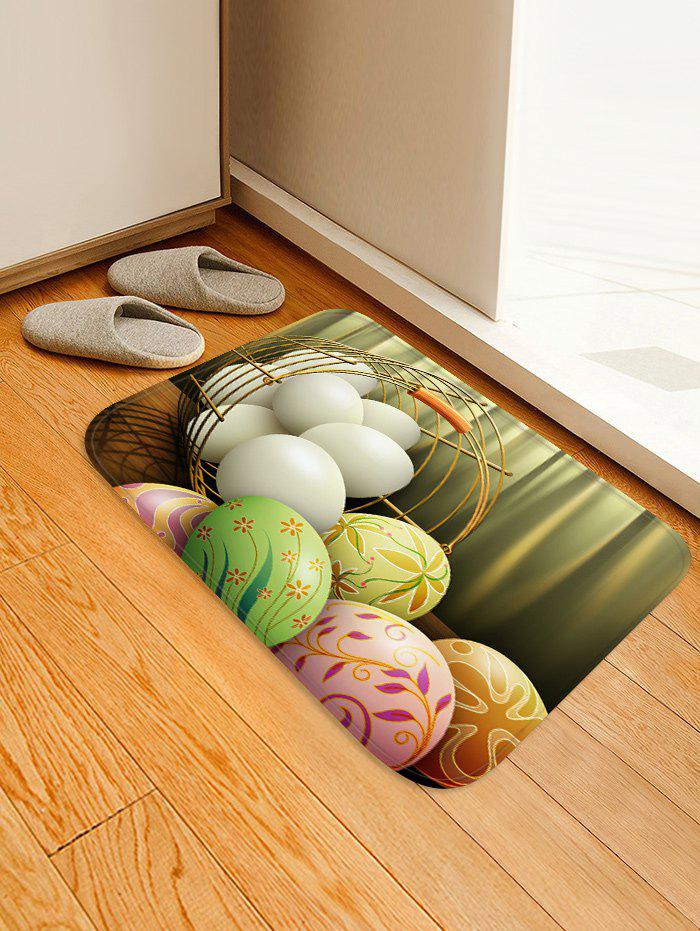 Hot Crate Happy Easter Egg Pattern Rug