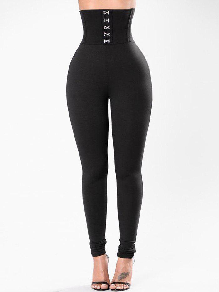 Affordable Hook and Eye High Rise Leggings